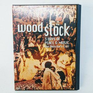 Other - Woodstock: 3 Days of Peace and Music DVD Film